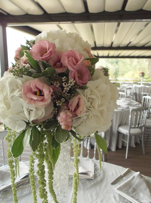 Centrotavola Ortensie E Peonie : Centrotavola e allestimenti floreali per il ricevimento
