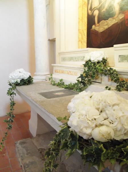 composizioni ortensie  La Gardenia