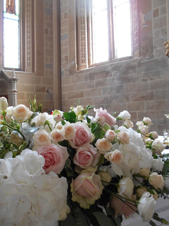 altare rosa cipria