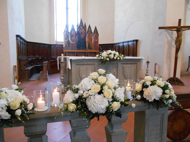 Addobbi floreali cerimonia  Composizioni di fiori matrimonio