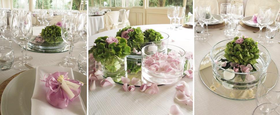 flowers centerpiece wedding Arezzo  La Gardenia