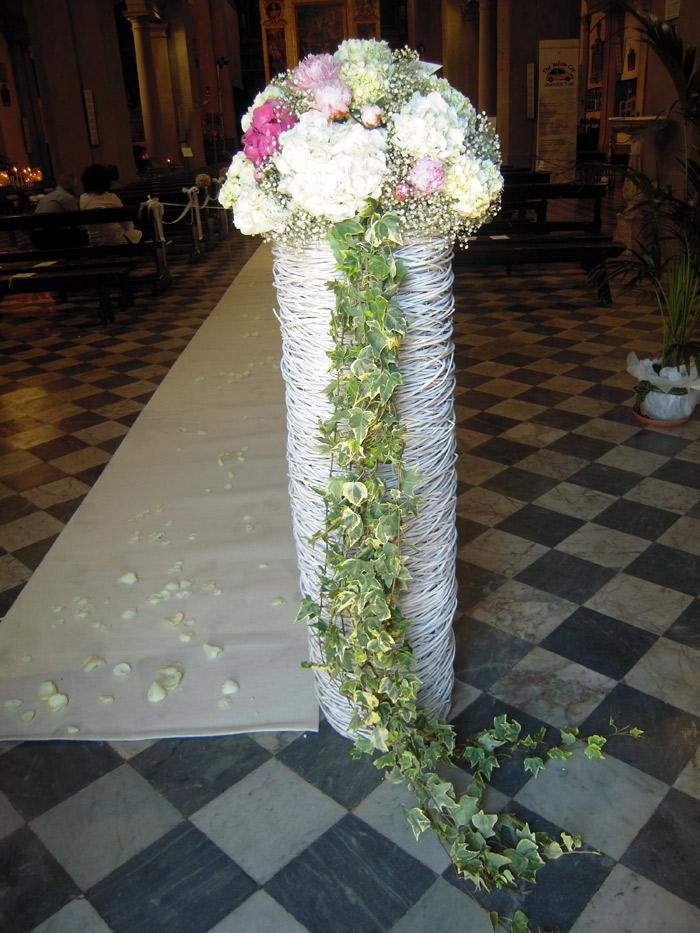 Matrimonio Azzurro Ortensia : Addobbi floreali cerimonia composizioni di fiori matrimonio