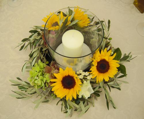 Centrotavola Con Girasoli Matrimonio : Decorazioni matrimonio girasoli migliore collezione