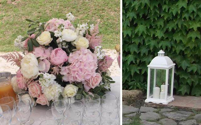 Tema Matrimonio Candele E Lanterne : Matrimonio vintage in rosa pastello la gardenia
