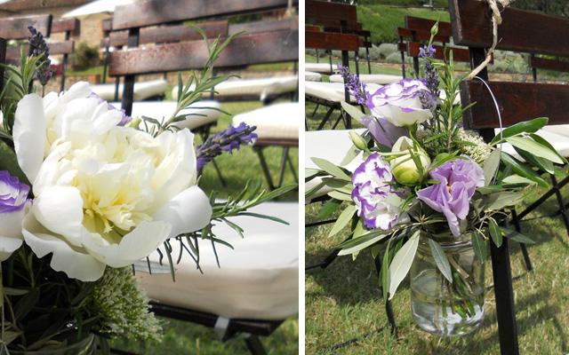 Matrimonio Rustico In Campagna : Fiori e barattoli per nozze casual chic la gardenia