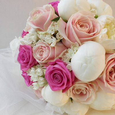 Matrimonio nelle sfumature del rosa e del fucsia
