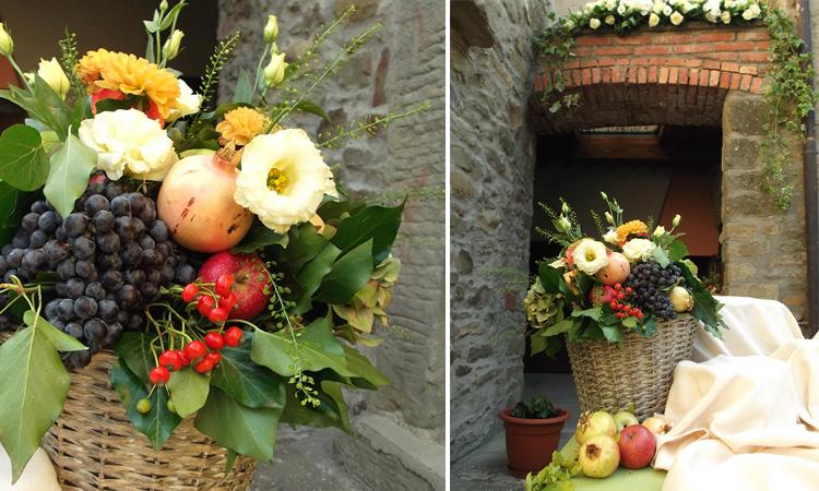 Addobbi Floreali Matrimonio Rustico : Matrimonio dautunno in stile rustico la gardenia
