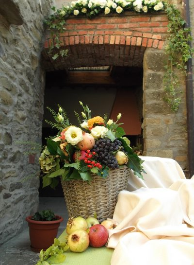 Matrimonio d'autunno in stile rustico