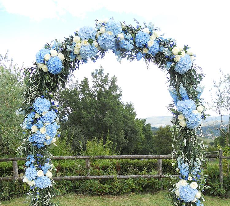 Matrimonio Fiori Azzurri : Fiori blu per un matrimonio rustico chic la gardenia
