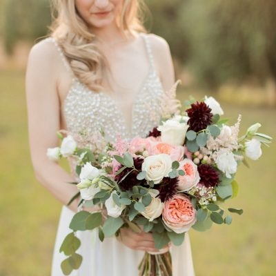 Tuscany late summer elopement