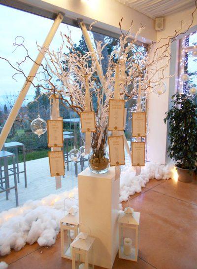 Matrimonio invernale oro e rosa cipria