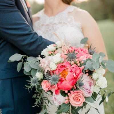 Romantic and vibrant wedding in Tuscany