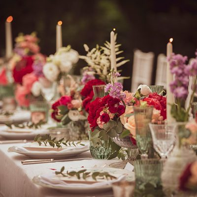Vibrant and eclectic wedding in Tuscany