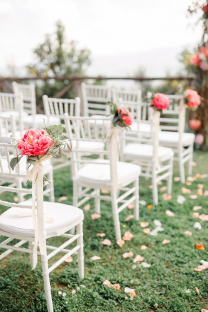 aisle tuscany wedding